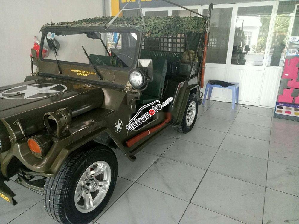 ban oto Nhap khau Jeep A2  1980
