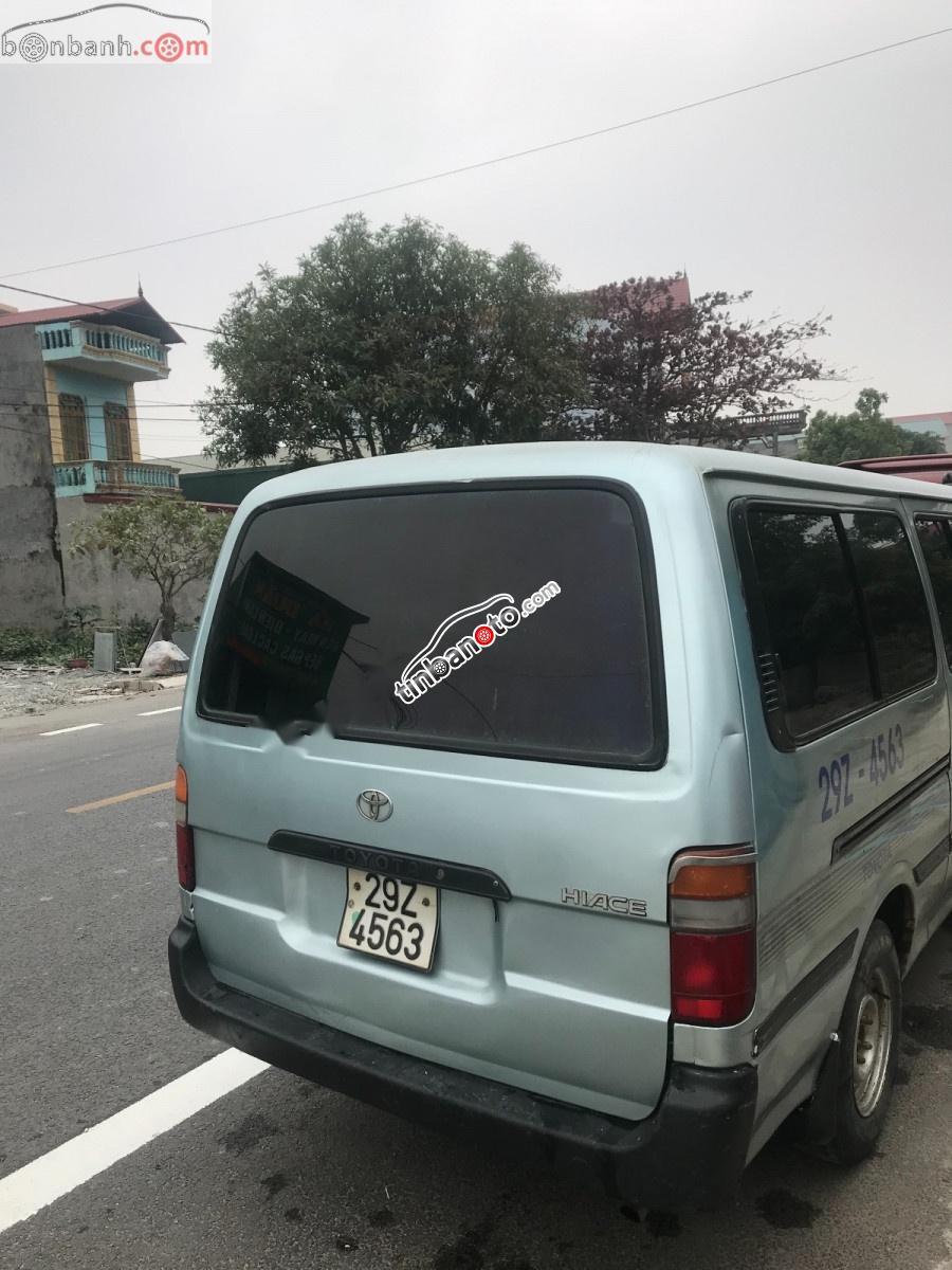 ban oto Lap rap trong nuoc Toyota Hiace  2000
