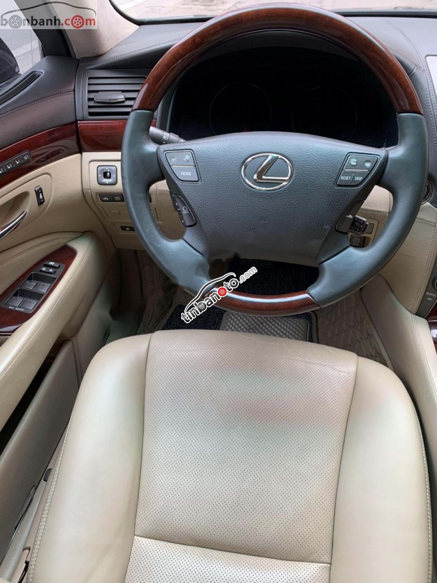 ban oto Nhap khau Lexus LS 600hL 2007