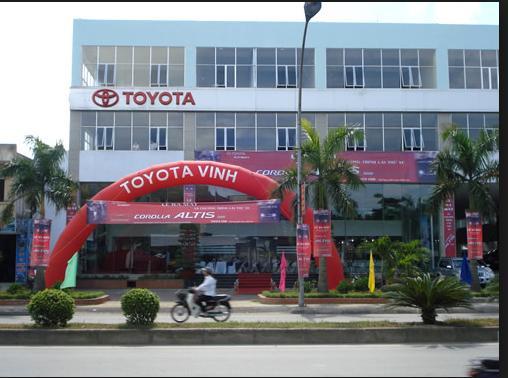 Toyota Vinh Salon, showroom, auto trên toàn quốc